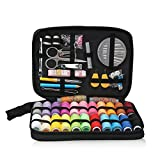 Sewing Kits for Teens, Segarty 97 Pcs Needle Thread Kit with Ruler, Buttons, Scissor, Pins Case for Women Senior Starter Basic Beginners Adults Professional Hand Sewing DIY Projects, Travel Emergency
