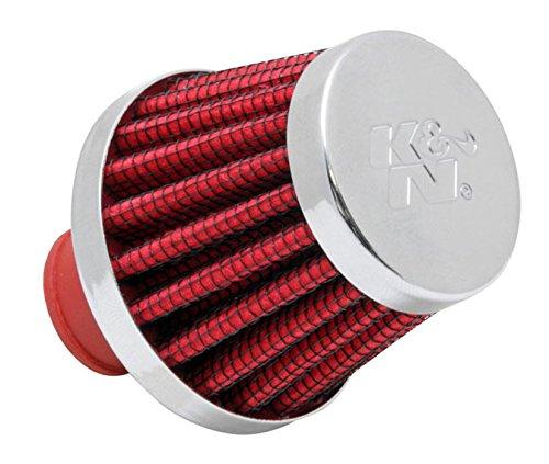 K&N 62-1600RD-L  KFZ und Motorrad Luftfilter/Abluftstutzen