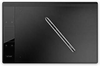 VEIKK 正規品 A30 10*6インチ 板タブレット(8192レベル バッテリーと充電不要ペン)1個液晶タッチパネル&四つのタッチキー液晶 専用