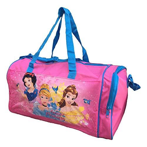 BORSA Borsone Principesse Cenerentola Bella Biancaneve Disney Tote da Viaggio Bambina Palestra CM. 44X20 H.23 - 57890