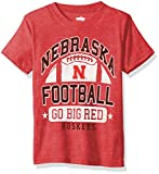 NCAA Cotton Willy Boys Short Sleeve Blend Tee Nebraska Cornhuskers, Team Color, 5
