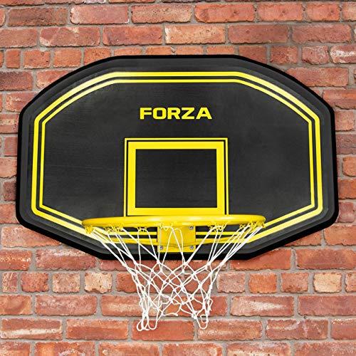 FORZA Tablero de Baloncesto Juvenil - Montaje a la Pared | Basket para Entretenimiento y Partidas | 45cm Canasta Flexible | Baloncesto Juvenil