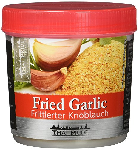 Thai Pride Knoblauch frittiert, 2er Pack (2 x 100 g)