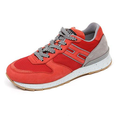 Hogan C7460 Sneaker Uomo Rebel R261 Rosso/Grigio Shoe Man [6]