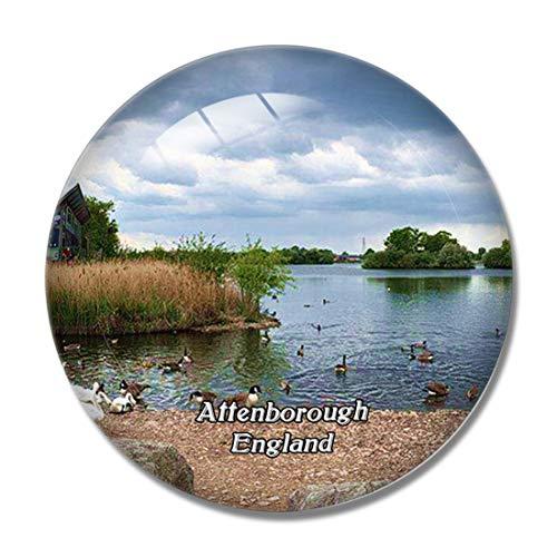 Attenborough Nature Centre UK England 3D Fridge Refrigerator Magnet Whiteboard Magnet Souvenir Crystal Glass