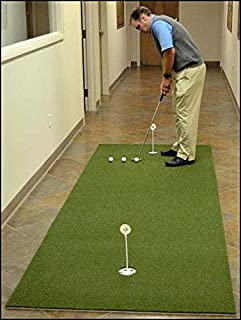 """True Roll Bent Grass 2 Cup Putting Green Training DVD & Impact Decals. Putting Greens with The """"True Feel of Bent Grass"""". Practice & Improve Your Golf Score Read Description Below."""