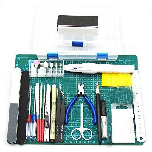 Preamer Modeler Professional Tools Craft Set for Car Gundam Model Assemble Building Kit