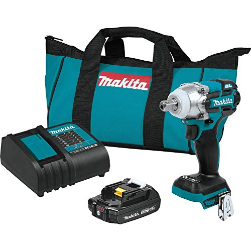 Makita XWT11SR1 18V LXT Lithium-Ion Compact Brushless Cordless 3-Speed 1/2