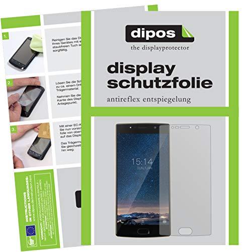 dipos I 6X Schutzfolie matt kompatibel mit Doogee BL7000 Folie Bildschirmschutzfolie
