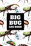 Big Bug Log Book: Bug Journal and Investigation Notebook for Insect Enthusiasts - Record Important Information About Your Bug Observations - Include a Sketch or Photo - Beetles Cover
