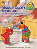 WHAT'S IN OSCAR'S TRASH CAN? AND OTHER GOOD NIGHT STORIES Featuring Jim Henson's Sesame Street Muppets by Michaela Muntean, illustrated by Tom Cooke (Softcover 8 x 11 inches 20 pages Golden Press, SESAME STREET GOOD-NIGHT STORIES)