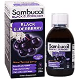 BLACK ELDERBERRY SYRUP: Sambucol Black Elderberry Original Formula is made with antioxidant rich black elderberries to help provide natural support for your immune system, general health, & wellbeing IMMUNE SUPPORT FOR THE WHOLE FAMILY: Sambucol blac...