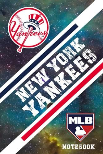 New York Yankees Sport Notebook & Journal With Logo Team New York Yankees MLB , NFL , NCAA , NHL#B13