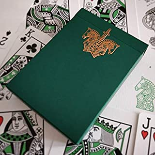 Ellusionist Knights Green Playing Cards Limited Edition Rare Deck by Cartamundi