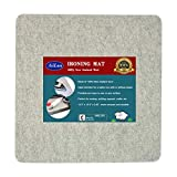13.5' x 13.5' Quilting Ironing Pad for Quilters – Wool Pressing...