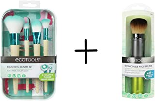 Ecotools Blooming Beauty Kit + Retractable Face Brush Value Set