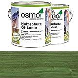 OSMO traitement protecteur pour le bois lasure huile 750 ml vert sapin 729