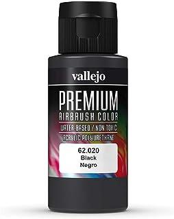Vallejo Premium Airbrush 62.020 Black Negro Acrylic Color