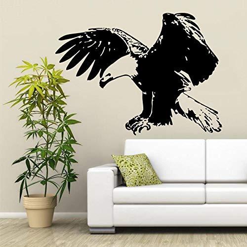 yaonuli Flying adelaar muur sticker vinyl dier vogel muurstickers huisdecoratie muurschildering behang