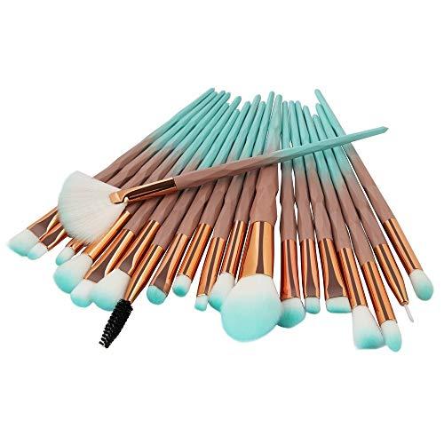 Lot de 6 Set Outils Pinceaux Maquillage Pinceaux pour le Yeux Ombre à Paupières Sourcils Shader Concealer Cosmetics Brush (ZA)