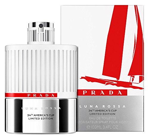 Prada Luna Rossa homme/ men, Limited Edition 34th America's Cup, Eau de Toilette, Vaporisateur/ Spray, 1er Pack (1 x 100 ml)