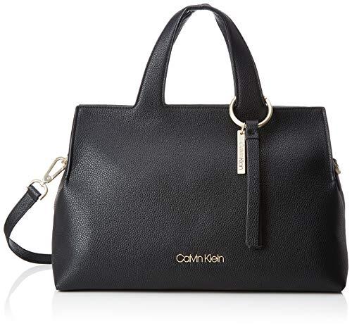 Calvin Klein Jeans - Neat Large Tote, Shoppers y bolsos de hombro Mujer, Negro (Black), 20x25x36 cm (B x H T)