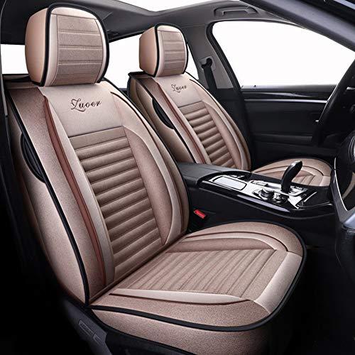 Fundas de asiento de coche de lino universales (delanteras y traseras) para Mini Todos los modelos C