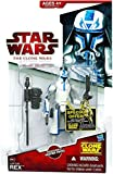 Star Wars 2009 Clone Wars Animated Action Figure CW No. 50 Captain Rex Removable Heater Pack by Hasbro