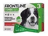 Frontline | Combo Spot On Cani | Protezione da pulci, zecche, uova e larve di pulci | 3 Pipette | Cane XL (superiore a 40 Kg)