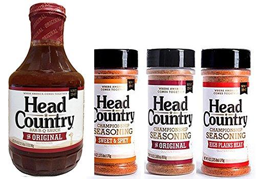Pitmaster Pro Head Country BBQ KIT: BBQ Sauce plus...