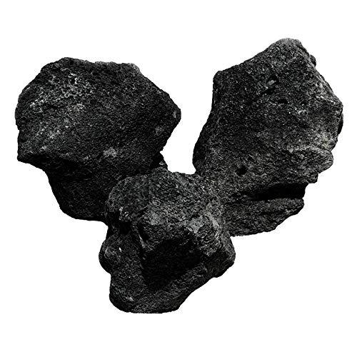 OrinocoDeco Lava Stein, schwarz 1kg
