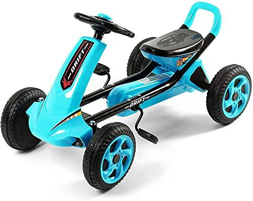 Niños S Bicicletas-Niños S Karts Ergonomía Vehículos de cuatro ruedas para el desarrollo cerebral y entrenamiento de funciones físicas OneColor-Onecolor
