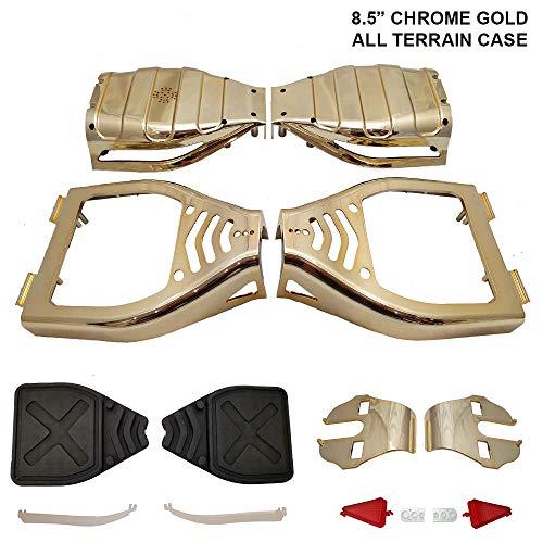 Cover per Hoverboard all Terrain - per Modelli con Ruote da 21,5 cm - plastica - Oro Cromato