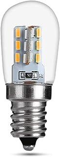 cineman Bombilla de frigorífico guiada para campana extractora, blanco cálido E12, diseño resistente al agua con pequeñas bombillas, 220 V