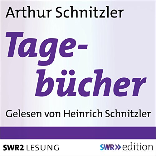Arthur Schnitzlers Tagebücher Titelbild