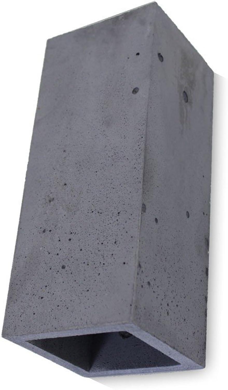 Betonleuchte Wandleuchte Guro anthrazit H  25 cm 10745
