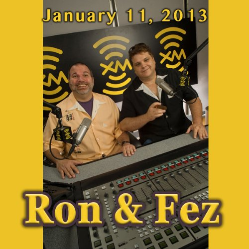 Ron & Fez, David Duchovny and Armond White, January 11, 2013 cover art