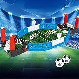 Kinder Tabletop Desktop Fußball, Mini Tabletop Fußball Spiel Desktop, Spiel Familie Spaß Spielzeug Kinder Geschenk (1 Sätze)