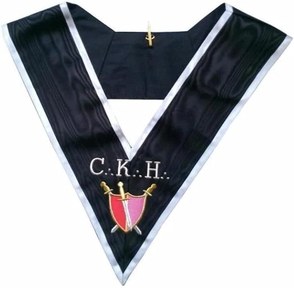 Masonic Officer's collar - ASSR - 30th degree - CKH - Grand Servant d'Armes
