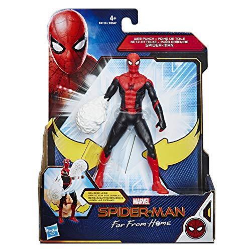Hasbro Marvel Spider-Man- Gioco Far from Home Feat Spider Man, Multicolore, E4118ES0