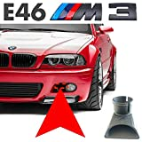 Performance Air Intake SCOOP for BMW E46 M3 2001-2006 - High AirFlow Forced Cold Air Intake, Black Color