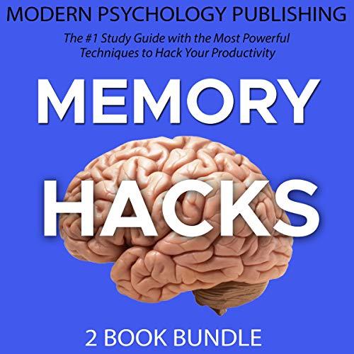 Memory Hacks: 2 Book Bundle audiobook cover art