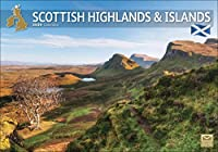 Scottish Highlands & Islands A4 Calendar 2020