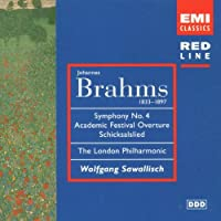 Symphony 4 / Academic Festival Ov. / Schicksalied