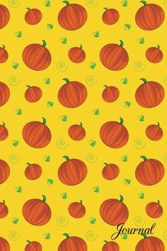 Journal: Yellow pumpkins notebook