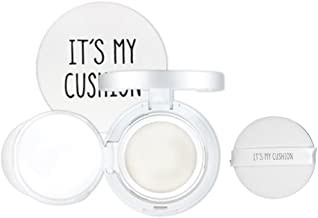 Its My Cushion Case DIY BB Cushion Pact cosmetic Case with Sponge, internal case, Make your own cosmetic case (Cushion Case (White))