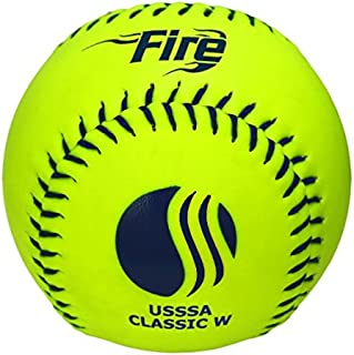 Baden USSSA Classic W Synthetic Cover Slowpitch Softball 11 (One Dozen)