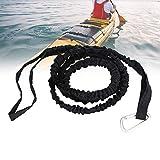 2 Pcs Nylon Elastic Boating Paddle Sicherheitsleine, Nylon Elastic Boating Paddle Safety Rod Leine zum Paddeln -