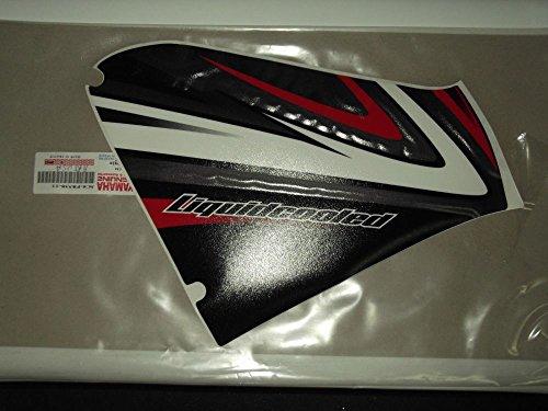 Original-Aufkleber Vorne Hinten Yamaha für Aerox 50 2008