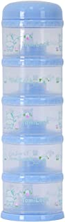 Yomilock 5-Layer Antibiotic Milk Powder Container / Dispenser, Blue - Made In Korea
